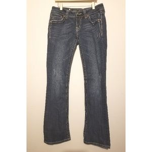 Women's size 28 Miss Me Jeans Bootcut